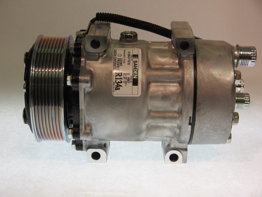 NEW Original Sanden Compressor 4667 (1101236) - AC Parts ...