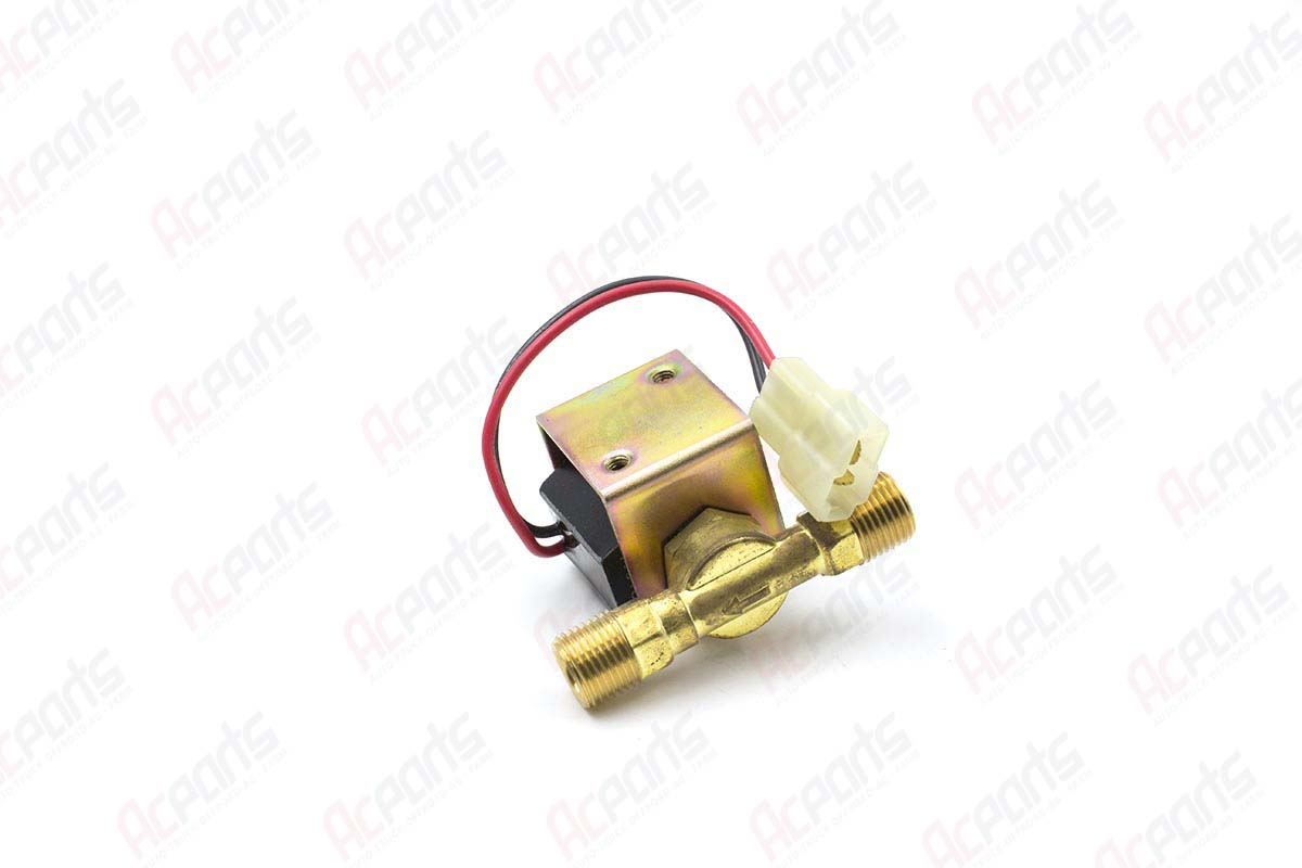 Refrigerant Solenoid Valve 12V with No  6 Male Insert O-Ring, R12/R134a -  1655 (2601020) - AC Parts Warehouse